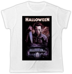 mens knifes Coupons - COOL HALLOWEEN KNIFE HOUSE MOVIE POSTER FASHION MENS UNISEX TSHIRT IDEAL GIFT hoodie hip hop t-shirt