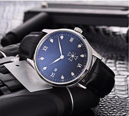Relógio de luxo para homens relógio Automático 051001 relógios mecânicos de designer genuíno cinto de couro Data Chronometer Completa de Aço relógio de Pulso De Cristal de Fornecedores de homens de luxo relógios cronômetro