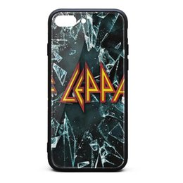 Wholesale Def Band Leppard Music UK weiße Telefonkästen Kasten iphone Fälle iphone plus iphone lus Fälle nettes Telefon billig telefonieren casesfancy schwere Fälle