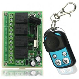 2019 modul lkw Auto Heckplatte Fernschalter Lkw Heckklappensteuerung 433 Mhz DC12V 10A 4CH Drahtlose Relaismodul DIY Smart Home Kits A2 günstig modul lkw