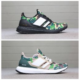 quality design cde90 82862 Bape x Adidas ultra boost Camo Ultra Boost 3.0 4.0 Triple Negro Blanco  Primeknit Oreo Hombre Zapatillas de running para hombre Ultra Boosts  ultraboost ...