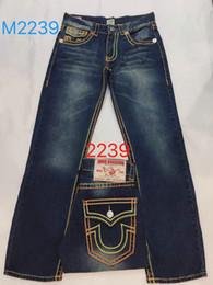 2019 gli uomini s jeans stile bicchierini vendita calda della nave libera 2019 Nuovi jeans True Elastic Mens Robin Rock Revival Jeans Borchie di cristallo Pantaloni jeans Designer Pantaloni Pantaloncini da uomo gli uomini s jeans stile bicchierini economici