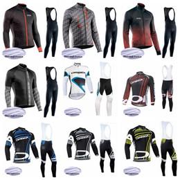 camisetas de ciclismo orbea Rebajas NW ORBEA Cycling Winter Thermal Fleece jersey babero establece sudadera de bicicleta de montaña a prueba de viento y transpirable para hombres S195917