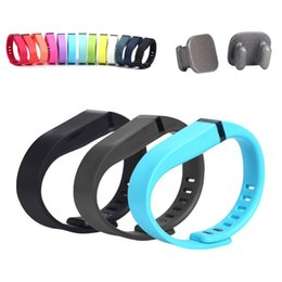 reemplazar reloj Rebajas Silicona Reemplazar Muñequera Correa Pulsera Reloj inteligente Banda inteligente Reemplazar pulseras para mujeres para Fitbit Flex 1