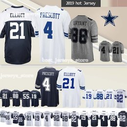 a9decc32090 21 Ezekiel Elliott Dallas jerseys Cowboys 55 Leighton Vander Esch 19 Amari  Cooper 88 Dez Bryant 2019 new jersey Superior