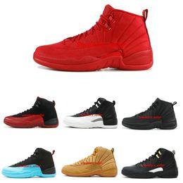 cheap for discount 23285 680b6 wolle mesh Rabatt 12 12s Mens Basketball-Schuhe 2019 Neue Designer-Schuhe  Michigan Wntr