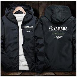 Wholesale 2019 Motosiklet yamaha Ceket Hoodies Rahat Erkekler Fermuar Kazak Erkek Eşofman Ceket