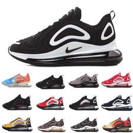 Nike air max 720 airmax Top qualité 72c chaussures de marque total eclipse coucher du soleil aurores boréales jour mens femmes luxe lune backback avenir baskets 36-45 ? partir de fabricateur