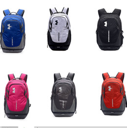 2019 mochilas de porcelana Diseñador de lujo Mochilas Estudiantes Bolsas Escolares UA Bolsa de Viaje Deportes Duffle Mochila Impermeable Al Aire Libre Unisex Marca Totes B71202 mochilas de porcelana baratos