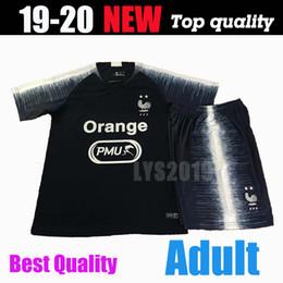 vestiti francesi Sconti 2 stelle Tailandia 2019 abbigliamento sportivo da calcio francese PAYET MBAPPE POGBA uniforme da calcio 2019 2020 GRIEZMANN tuta sportiva da allenamento Chandell.