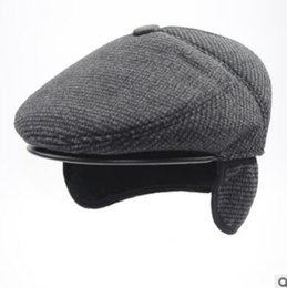 c03a9c78 old age hat Promo Codes - Middle-aged and old hat man autumn winter cap