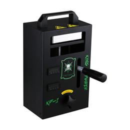 2019 kit de prensado MOQ1PCS LTQ Vapor Rosin Press Machine KP-1 KP-2 4tons Presión en la abrazadera Calefacción Cera portátil Hierba seca Kit de herramientas de bricolaje 100% auténtico