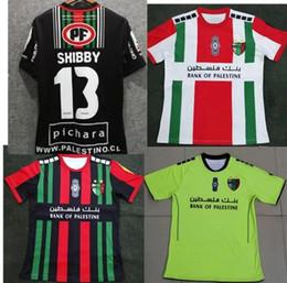 2019 camisas feitas sob encomenda livres Top qualidade 2019-2020 Palestina camisa de futebol em casa preto branco nome personalizado número camisa de futebol frete grátis camisas feitas sob encomenda livres barato