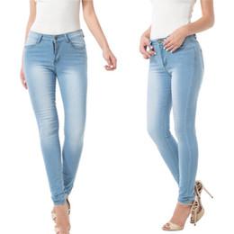 2edd2b9a551 Женские шлифовальные белые эластичные джинсы скинни плюс размер 3XL джинсы  с высокой талией вымытые повседневные джинсовые брюки-карандаш