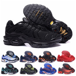 max chocolates Desconto nike air max Off white Flyknit Utility TN Plus  Air TN RunNING ShOes CESTA CESTA REQUIN Respirável MALHA CHAUSSURES HoMMe noir Zapatillaes TN SHOES