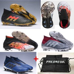 premium selection f78ee 0a261 fußballschuhe neu Rabatt 2018 New PREDATOR 19 FG Herren Fußballschuh  Chaussures De Fußballschuhe High Top Predator