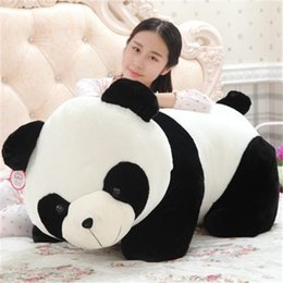 Jouets de garçons de chine en Ligne-20170712 avril vente chaude marque la Chine trésor national panda en peluche en peluche jouets garçon et fille cadeau d'anniversaire d'emballage