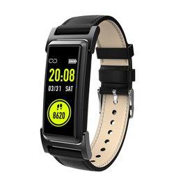 relógio de tela tft Desconto KR03 GPS Relógio IP68 À Prova D 'Água Em Tempo Real Monitor de Freqüência Cardíaca Pulseira 0.96 Polegada TFT Tela Colorida Pulseira Bluetooth Esportes