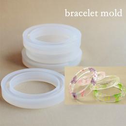 Pulsera para SNASAN Silicona para la joyería molde de silicona Herramienta hecha a mano del molde de silicona DIY Craft moldes de resina epoxi desde fabricantes