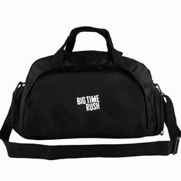 Grandi borse di roccia online-Big time rush borsone BTR tote Kendall Schmidt backpack Borsa rock bag Sport spalla borsone Emblem pacchetto fionda