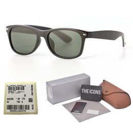 833791052af1c High Quality Metal hinge Brand design sunglasses for men women plank frame  Mirror glass lens fashion sun glasses with free cases and label