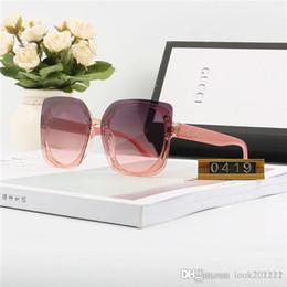 Designer di occhiali da sole di marca Luxury Fashion Maschio High-end UV400 Specchio Polly Materiale multicolore confezione nastro di imballaggio online cheap boxing tape da nastro di pugilato fornitori