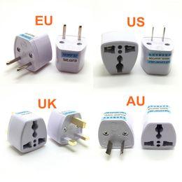 Euro-stecker-ladegerät online-Universal-US UK AU EU-Stecker USA zu Euro Europa Raum-Wand-Ladegerät AC-Outlet-Adapter-Konverter-Buchse