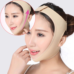 İnce yüz maskesi zayıflama maskesi cilt çene yüz Yanak zayıflama v-line yüz germe bandaj Yeni ince maske anti-sarkma güzellik yüz maskesi supplier slimming face mask nereden zayıflama yüz maskesi tedarikçiler