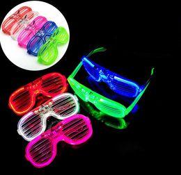 Новое поступление светодиодные светящиеся вспышки очки затворные очки диско-бар прохладный свет праздничные атрибуты детские флэш-игрушки от