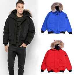 Casacos de moda de inverno on-line-Jacket Mens Moda Inverno Goose Mens Designer Parka Famous Brand Homens Mulheres Jacket Designer inverno dos homens de alta qualidade Casacos Tamanho S-2XL