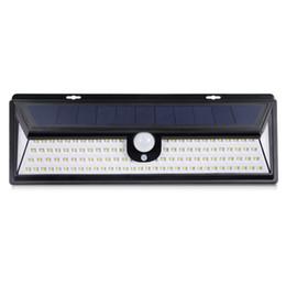 Il nuovo 118 LED 1800LM della lampada LED impermeabile del sensore di movimento di PIR luce solare del giardino esterno solare 3 Modalità di protezione del pool di Porta Solar Lighting da farfalle solari libellule fornitori