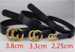 Canada CHAUDE ceinture de style classique 3 taille large avec plus de modèle double boucle alphabet image réelle 100cm -125cm bonne qualité comme cadeau pas avec la boîte 92687 Offre