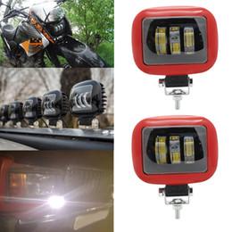 luzes led automotivas atacado Desconto Auto caminhão Offroad lâmpada de condução DC12V 24 V levou Chip Car Led Trabalho Luz 6000 k 30 W spot Lâmpadas À Prova D 'Água Led Fog Light