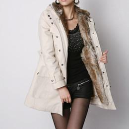 jaqueta de inverno alinhada pele falsa senhoras Desconto Jacket Mulheres Winter Ladies Fur Forro Brasão Warmness Plus Size grosso casaco de Parka Jaquetas Básicas de lã grossa Faux Fur Coats