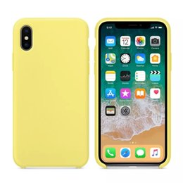 casi coniglietto iphone 5s Sconti Custodia originale in silicone LOGO per iPhone 6 7 8 Plus X XS XR XSMAX Cover in silicone per iPhone X 6S 6 Plus per Apple Retail Box