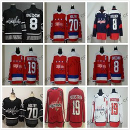 Cheap 2019 All Star Jersey Men 19 77 92 43 Wilson 8 Alex Ovechkin 70 Braden  Holtby Washington Capitals Blues Black White Blank Hockey Jersey b7006cb0a