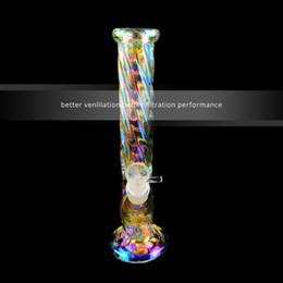 2019 mel do reciclador HOT populares 12,5 polegadas Bongos de vidro Estilo arco-íris Nuvem tubulações de água com bowl1pcs 1 pcs vidro Downstem