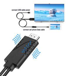 Adaptador de cable de iPad a HDMI, adaptador AV digital USB a HDMI 1080P HDTV Cable Converter para Samsung LG Google Nexus DHL gratuito desde fabricantes
