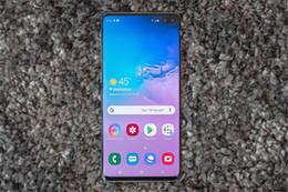 smartphone mtk Rabatt Goophone S10 S10 + 6.3-Zoll-Iris-Fingerabdruck Entsperren MT6580T 3G 1900 zeigen gefälschte 4G LTE 64GB-Smartphones Freies DHL