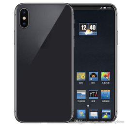 2019 лучший mp3 сотовый телефон Goophone XS 5.5-дюймовая двойная задняя камера 3G WCDMA Quad Core MTK6580 1.2 GHz 1G / 4G может показывать поддельные 4G LTE