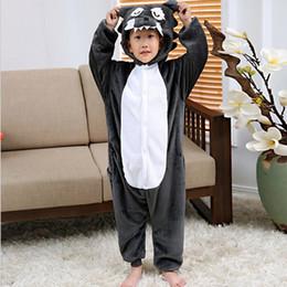 Transporte da gota Animal Pijamas Crianças girafa Panda tigger ponto unicórnio flanela onesie traje Cartooon animal pijama traje cosplay de