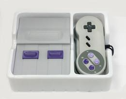 Классическая игровая приставка HD mini super SNES Video game player поддержка ТВ-выхода встроенные 821 игры с розничной упаковке DHL freeshipping от