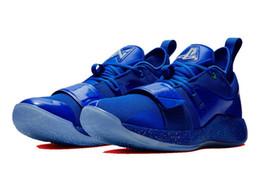 Argentina Nueva PG 2.5 playstation azul multicolor envío gratis Paul George tienda de zapatos de baloncesto para ventas con tamaño de caja 40-46 cheap eva color shoes Suministro