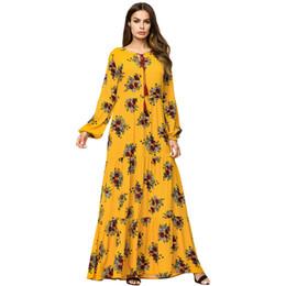 Vestidos de pavo dubai online-Vestido musulmán Bata Kaftan marroquí Dubai Árabe Abaya Ropa islámica Bangladesh Turquía Qatar Vestidos EAU Oración Túnica Musulmane