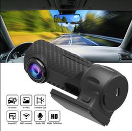 Мини 1080P ночного видения HD автомобильный регистратор данных WIFI HD автомобильный монитор скрыт с гравитацией, широкий угол поворота на 360 градусов от