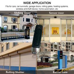 Portas remotas electrónicas on-line-Carro portão de garagem Door Opener Duplicator Remote Control Controle Remoto Clonagem Duplicator sem fio eletrônico