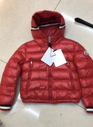 2019 длинные куртки девушки новая модель Фирменный детский красный мягкий нейлоновый пуховик Laqué Дизайнерский детский карман с отстегивающимся капюшоном и коротким пуховиком