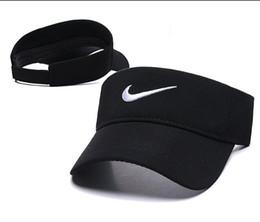 Canada En plein air hommes femmes Visor Sun Hat mens designer Sunscreen Sports Tennis Cap Mode Lady Voyage Plage Vide Top Hat OS gorras cap casquette supplier ladies sun caps Offre