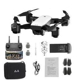 2019 ch rc helicóptero S20 Drone Con HD 1080 P Cámara Wifi Quadrocopter Flotando FPV Quadcopters 5MP Plegable RC Helicóptero Bolsa de almacenamiento de juguete para niño