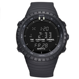 Reloj deportivo para hombre, Reloj de pulsera de cuarzo electrónico, Reloj de cuarzo electrónico, Reloj de pulsera, Reloj digital, Todo negro para hombres Relojes con retroiluminación LED para hombres desde fabricantes